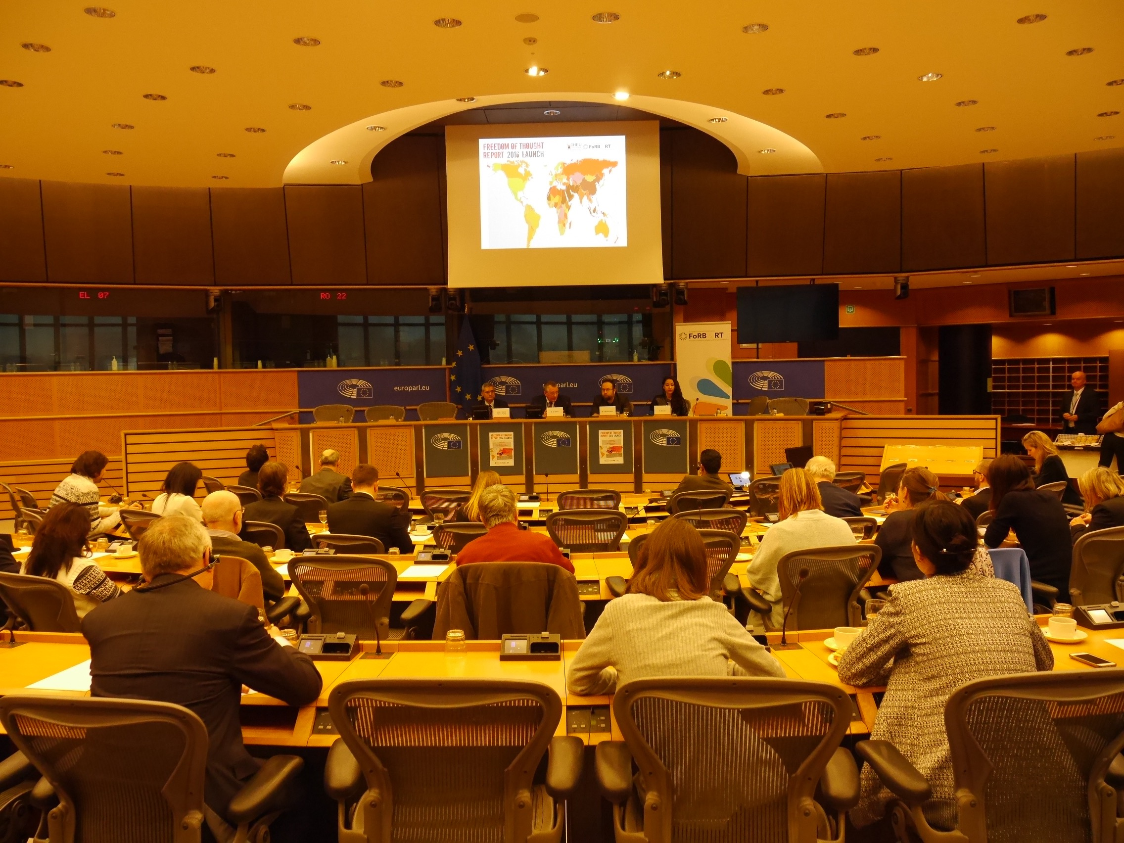 The Intergroup on FoRB & RT